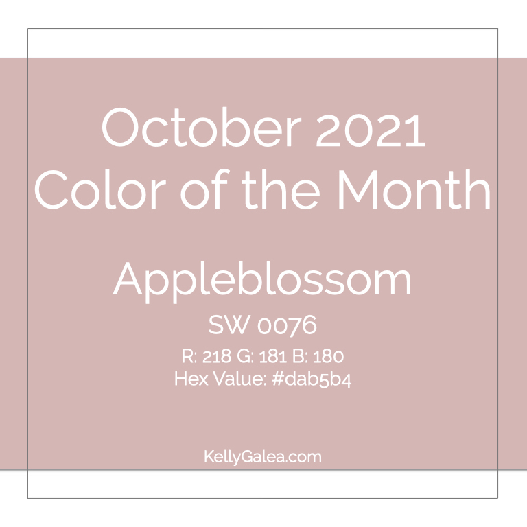 Color of the Month - October 2021