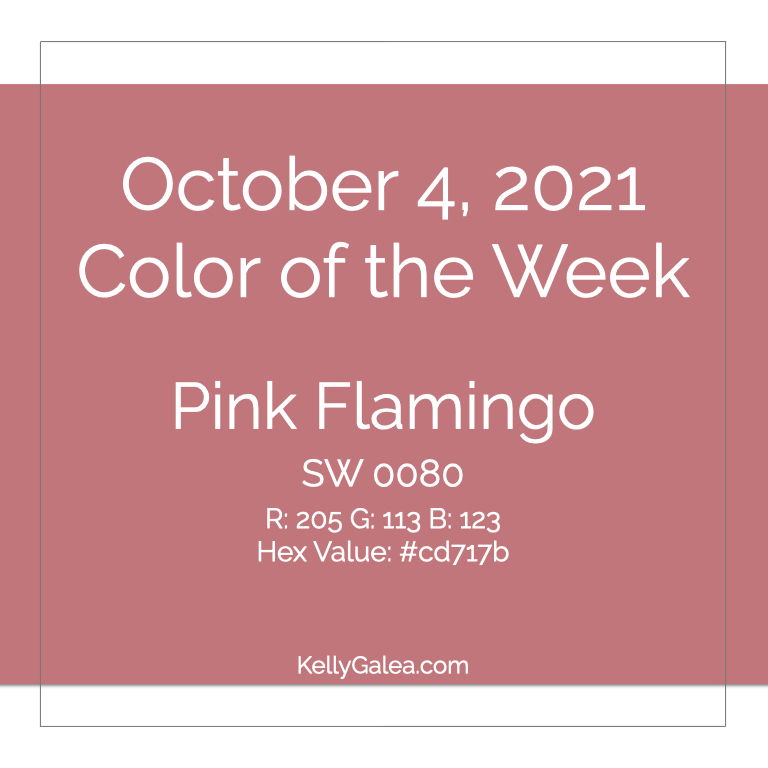 Color of the Week - October 4 2021
